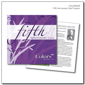 ColorsNW Fifth Anniversary Program
