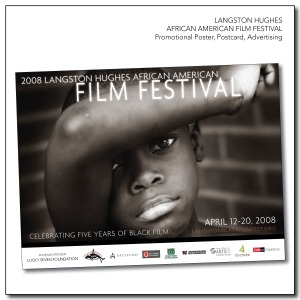Langston Hughes African American Film Festival - Marketing Materials
